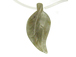 Carved Gemstone Leaves -  Moss Agate