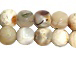 8mm Faceted Round Sur Coast Agate Bead Strand