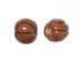 Ceramic Small Basketball Bead - Bulk Pack of 100pcs