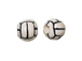 Ceramic Small Volleyball Bead - Bulk Pack of 100pcs