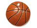 Ceramic Basketball Pendant