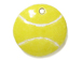 Ceramic Tennis Ball Pendant