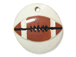 26mm Football Pendants