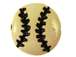 Ceramic Baseball Disc Bead