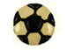 Ceramic Soccer Ball Disc Bead