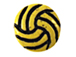 Ceramic Water-Polo Disc Bead