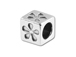5.5mm Sterling Silver Symbol Bead - Flower