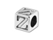 5.5mm Sterling Silver Greek Letter Bead - Zeta