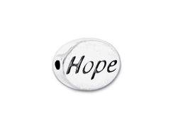 HOPE Sterling Silver  Bead