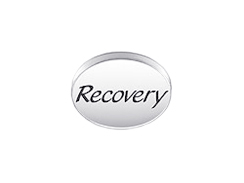 RECOVERY Sterling Silver Oval Message Bead