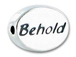 BEHOLD Sterling Silver Oval Message Bead