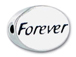 FOREVER Sterling Silver Oval Message Bead