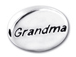 GRANDMA Sterling Silver Message Bead