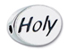 HOLY Sterling Silver Message Bead