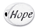 HOPE Sterling Silver Message Bead