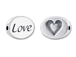 LOVE Sterling Silver Message Bead