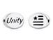 UNITY2 Sterling Silver Oval Message Bead CLEARANCE SALE
