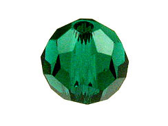 Emerald - Swarovski 5000 5mm Round Faceted Beads Factory Pack