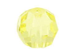 36 Jonquil - 3mm Swarovski Faceted Round Beads