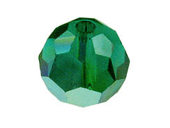 Emerald AB - Swarovski 5000 5mm Round Faceted Beads Factory Pack