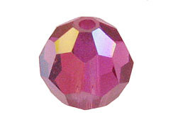 Fuchsia AB - Swarovski 5000 5mm Round Faceted Beads Factory Pack