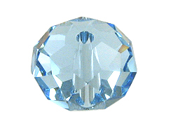 Aquamarine - 12mm Swarovski 5040 Briolette Beads