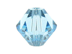 3mm Aquamarine - Swarovski 5301/5328 Bicone Beads Factory Pack of 1440