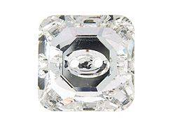 Crystal  - 12mm Square Swarovski Buttons