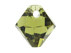 Khaki - 8mm Swarovski 6301 Top Drilled Bicones Factory Pack of 288