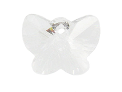 Crystal - 18mm Swarovski  Butterfly Pendant