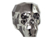 Crystal Silver Night 2X - 13mm Swarovski 5750 3-D Skull Bead