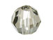 24 Crystal Satin - 6mm Swarovski Faceted Round Beads