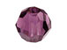 18 Amethyst - 8mm Swarovski Faceted Round Beads