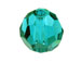 Blue Zircon  - Swarovski 5000 6mm Round Faceted Beads Factory Pack