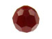 Dark Red Coral Swarovski Round Crystal Beads  Factory Pack of 288