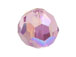 Light Amethyst AB - Swarovski 5000 5mm Round Faceted Beads Factory Pack