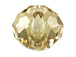 Crystal Golden Shadow: 18mm Large Hole Crystal Rondelle - Swarovski Factory Pack