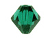 3mm Emerald - Swarovski 5301/5328 Bicone Beads Factory Pack of 1440