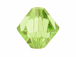 12 Peridot - 10mm Swarovski Faceted Bicone Beads