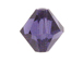 3mm Purple Velvet - Swarovski 5301/5328 Bicone Beads Factory Pack of 1440