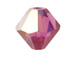 3mm Fuchsia AB - Swarovski 5301/5328 Bicone Beads Factory Pack of 1440
