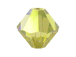 36 Lime AB - 6mm Swarovski Faceted Bicone Beads