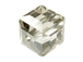 Crystal Satin Swarovski 5601 6mm Cube Beads Factory Pack
