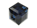Dark Indigo Swarovski 5601 6mm Cube Beads Factory Pack