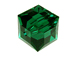 Emerald Swarovski 5601 6mm Cube Beads Factory Pack