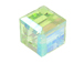 Chrysolite AB Swarovski 5601 4mm Cube Beads Factory Pack