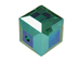 12 Emerald AB - 6mm Swarovski Faceted Cube Beads