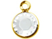 Crystal - Swarovski Crystal Gold Plated Birthstone Channel Charms, 12 x 9mm