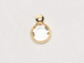Crystal - Swarovski Crystal Gold Plated Birthstone Channel Charms, 6.6 x 4.6mm