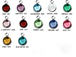 12pc Set of Swarovski Silver Plated Birthstone Channel Charms